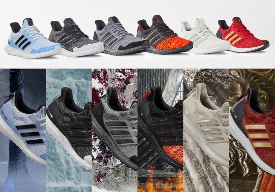 adidas And Game Of Thrones Officially Announce Six-Shoe Collaboration