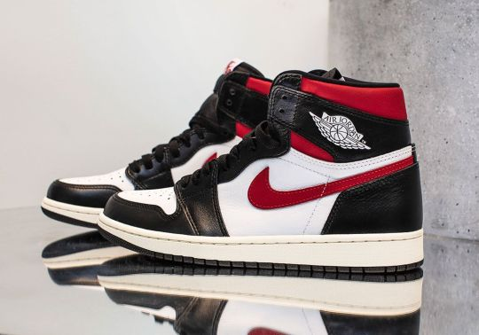 "The Air Jordan 1 ""Gym Red"" Introduces Another Take On The Classic Bulls Look"