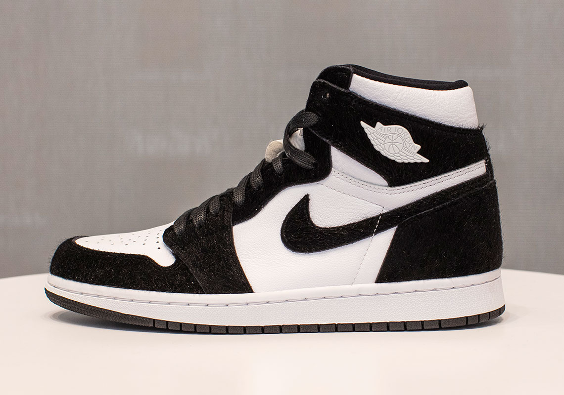 "wholesale dealer 831df eab49 This Ladies-Only Air Jordan 1 Retro High OG ""Panda"" Features Premium  Materials"
