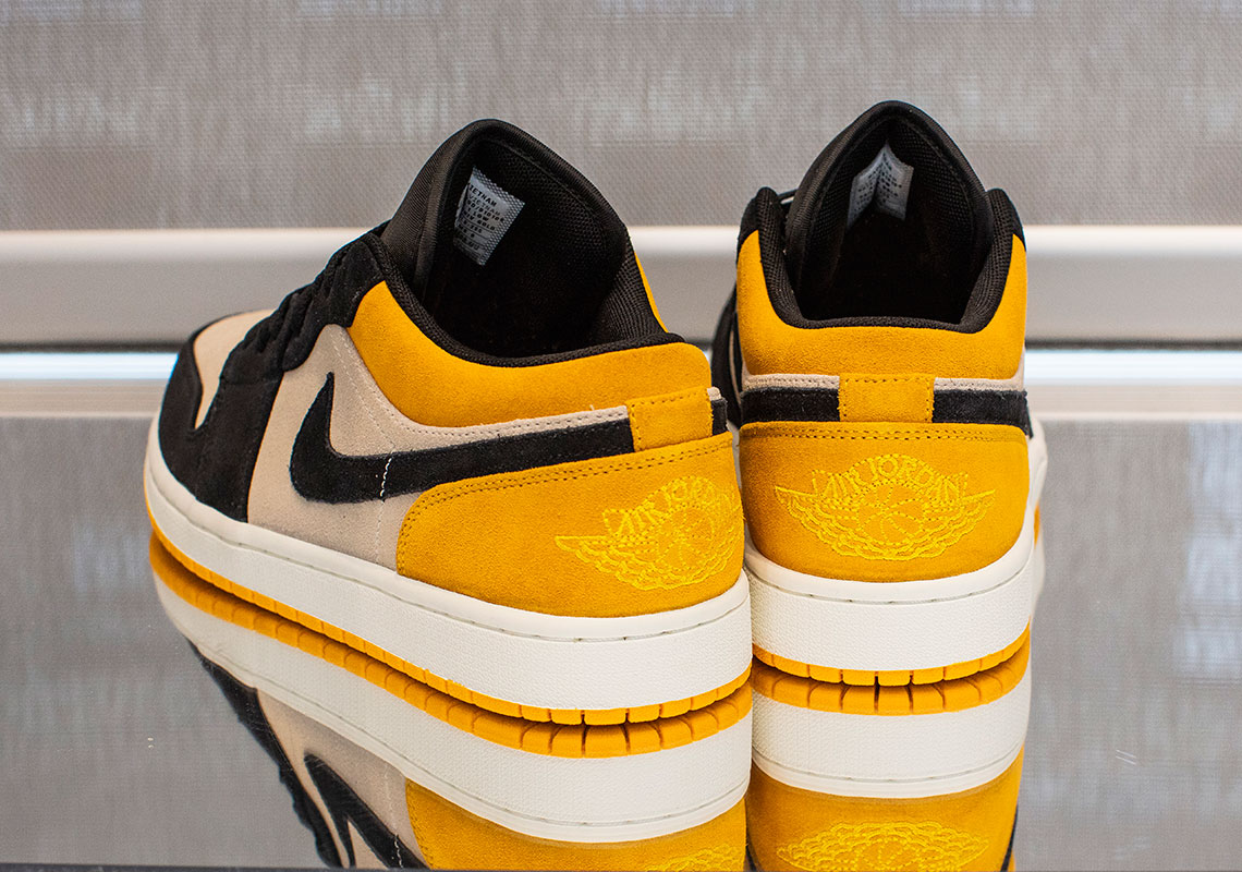 the latest c8db4 352d6 Air Jordan 1 Low Release Date  Summer, 2019  110. Color  White White Gym  Yellow-Hyper Pink