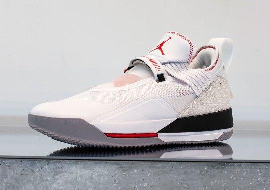 First Look At The Air Jordan 33 Low