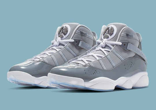 "The Jordan 6 Rings Is Back In ""Cool Grey"""