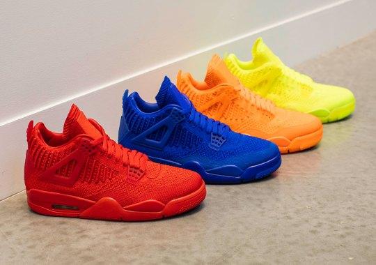 The Air Jordan 4 Flyknit Debuts In Four Regional Exclusive Colorways