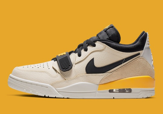 The Jordan Legacy 312 Low Swaps Its Elephant Print Out With Premium Suede