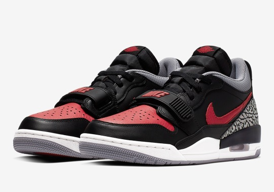 The Jordan Legacy 312 Low Blends Two Classic Jumpman Colorways