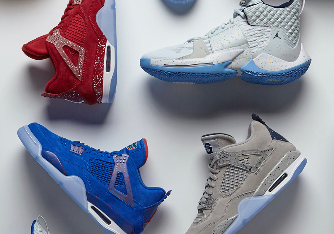 check out 02dc5 7f346 Jordan Brand Shows Off Collegiate Air Jordan 4 And Why Not Zer0.2 PEs