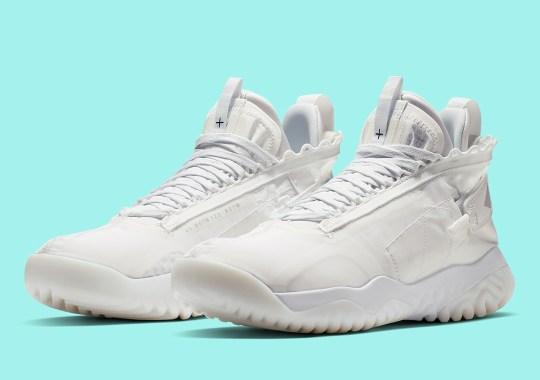 "The Jordan Proto React ""Triple White"" Is Coming Soon"