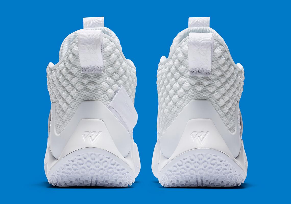 "Russell Westbrook's Jordan Why Not Zer0.2 Gets ""Triple-White"" Model"