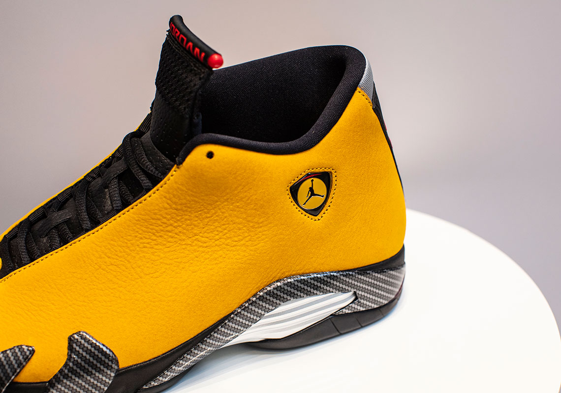 low priced 44936 edecf Jordan 14 Ferrari Yellow - BQ3685-706 Release Date ...