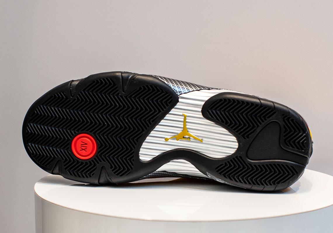 low priced afd79 e1e46 Jordan 14 Ferrari Yellow - BQ3685-706 Release Date ...