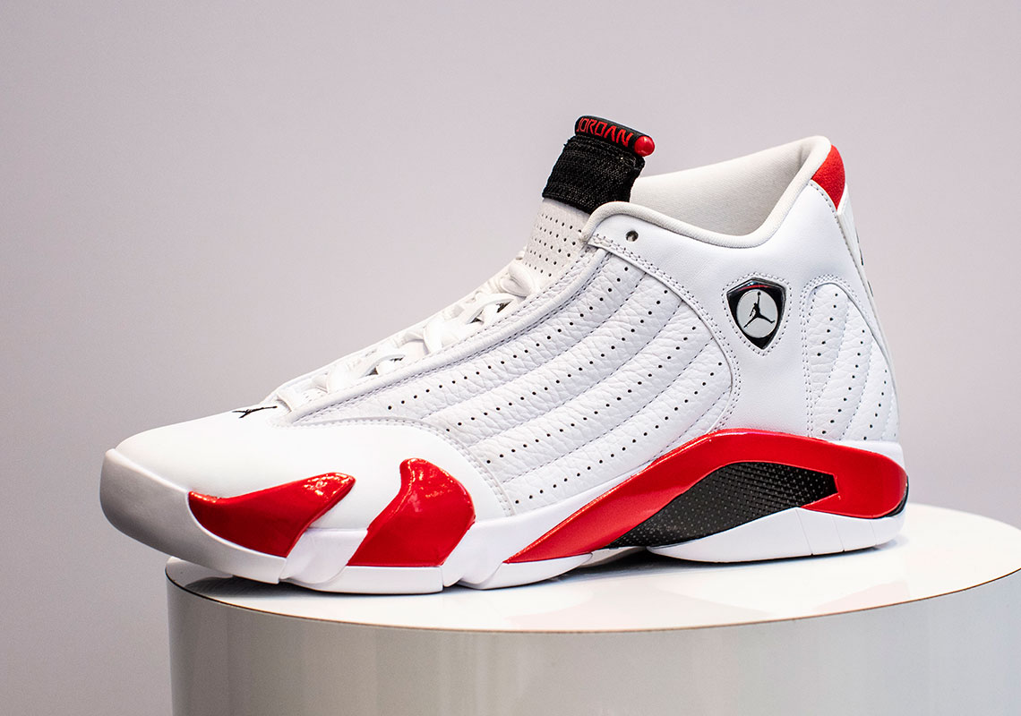 new style c81a3 ddfa3 Jordan 14 Varsity Red 487471-100 Release Date | SneakerNews.com