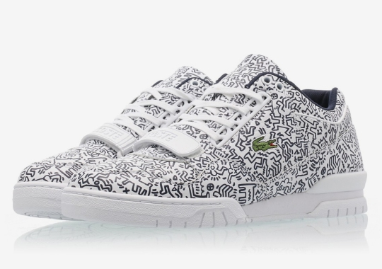 Keith Haring and Lacoste Team Up For Two Co-Branded Silhouettes