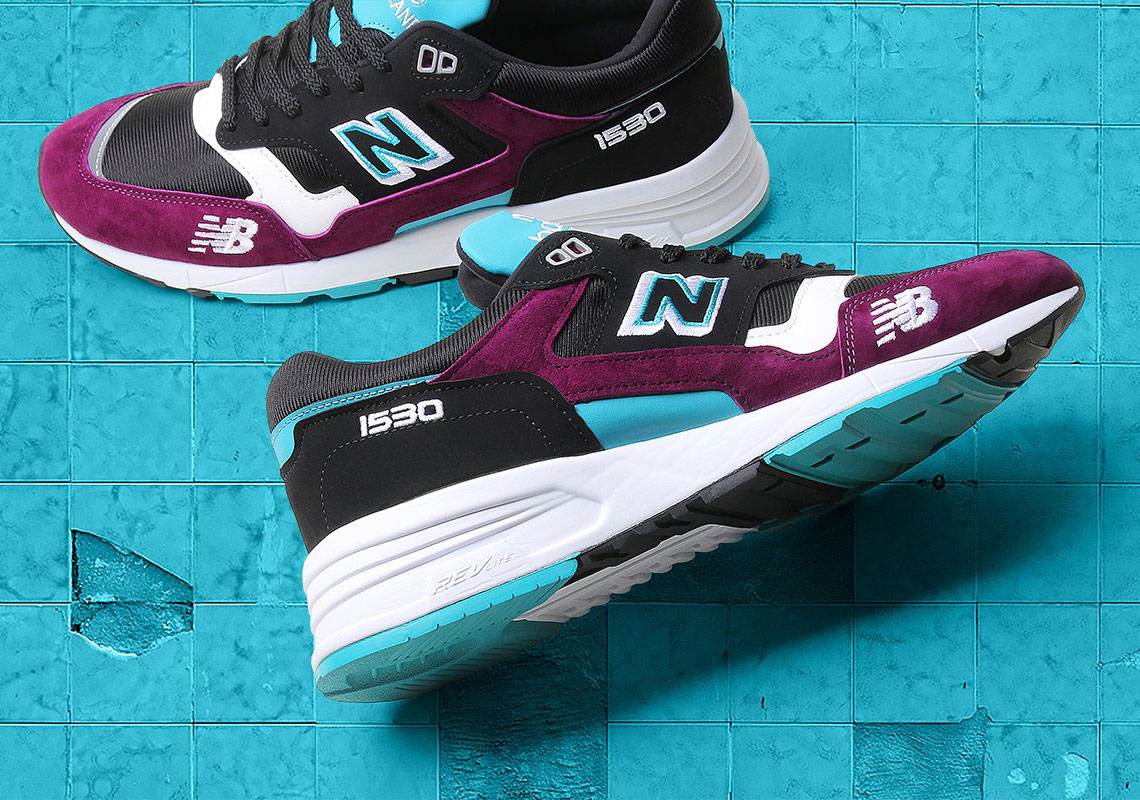 best sneakers 3649a 8b1e8 New Balance s Made In England 1530 Arrives In Purple And Teal