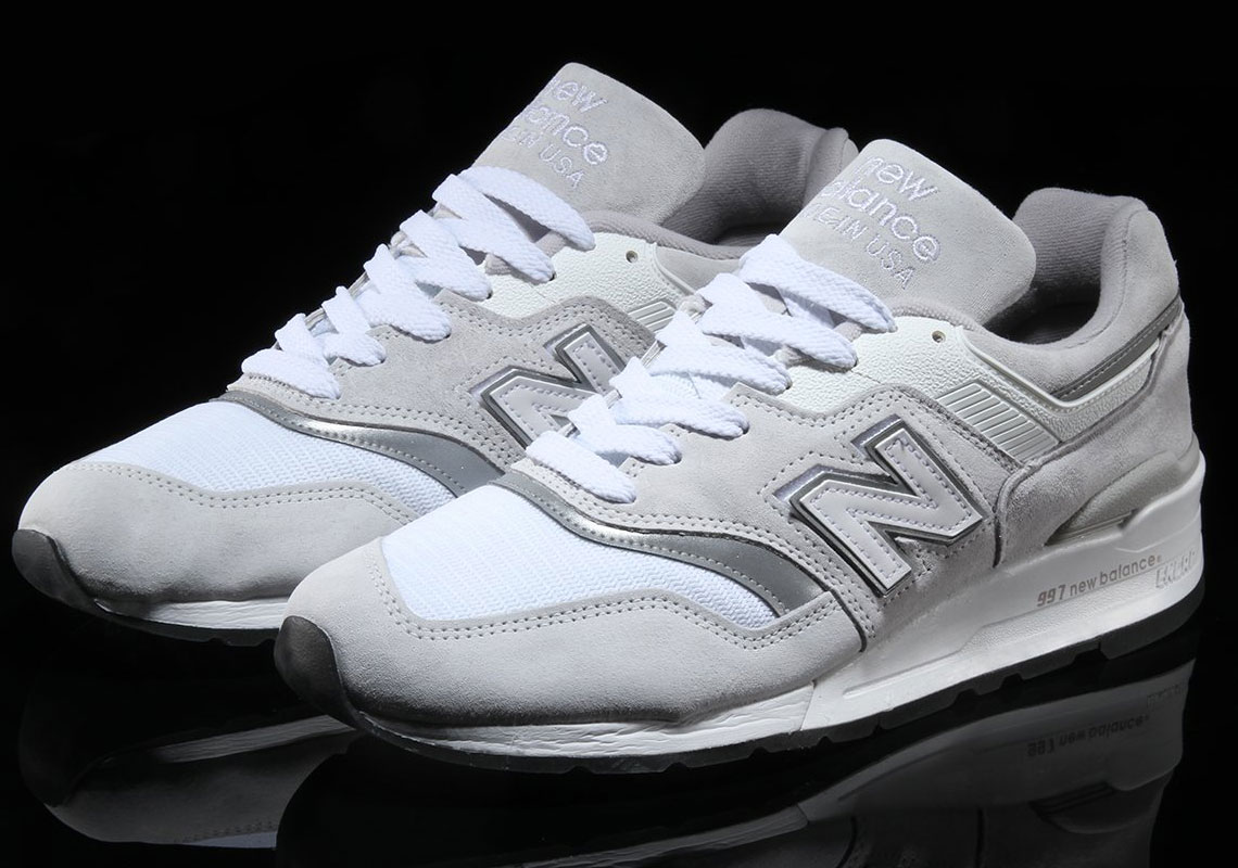 New Balance 997 Swappable N Logo Release Info | SneakerNews.com