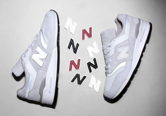 The New Balance 997 Arrives With Swappable N Logos
