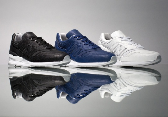New Balance Adds Bison Leathers To The 997