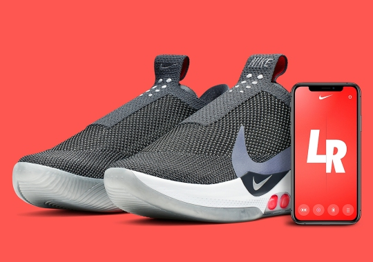 The Nike Adapt BB Returns On April 19th In Dark Grey And Multi-Color