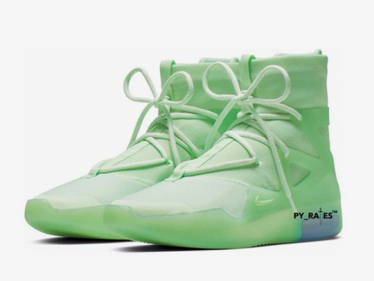 The Nike Air Fear Of God 1 Appears In A Frosted Spruce