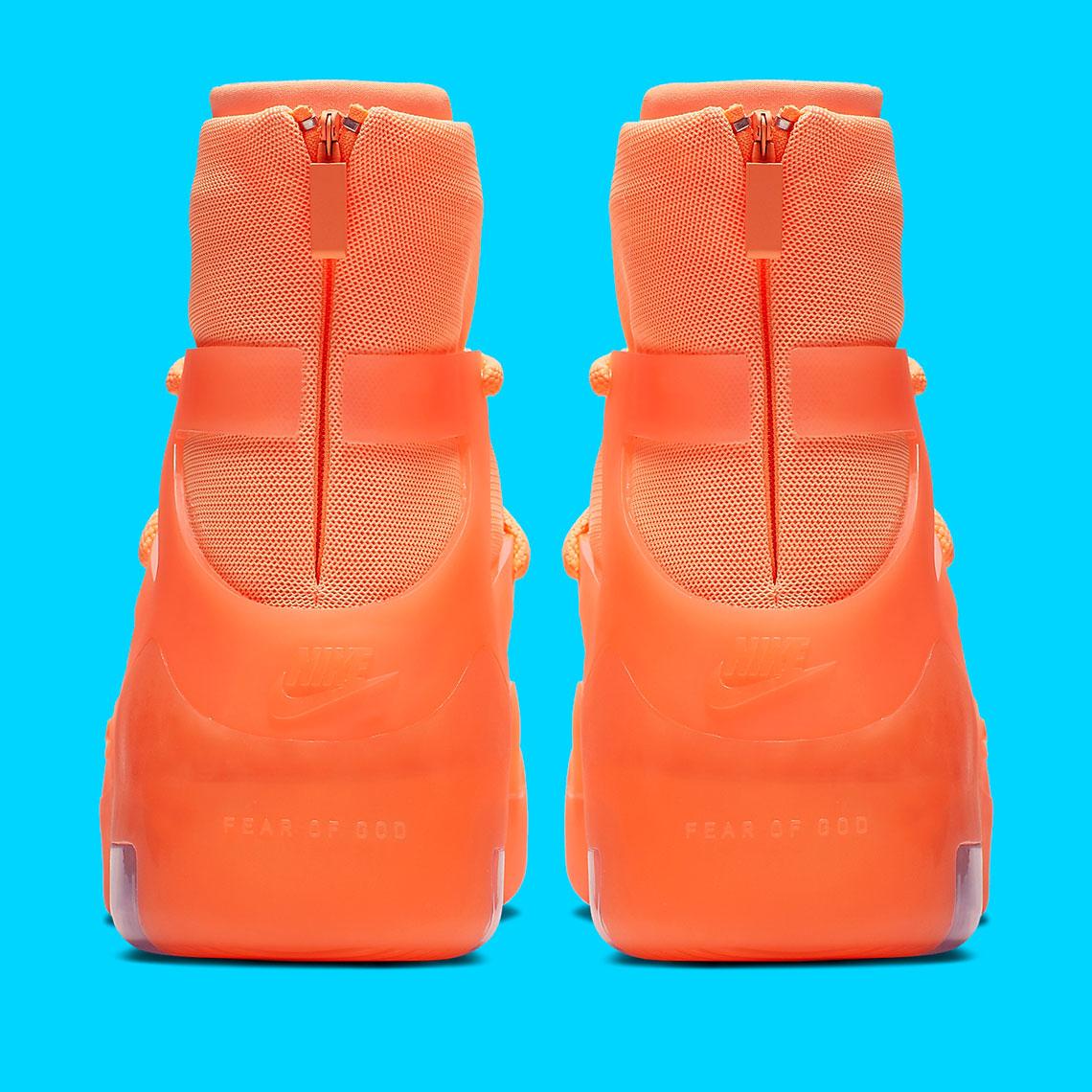 Nike Air Fear Of God 1 Orange AR4237