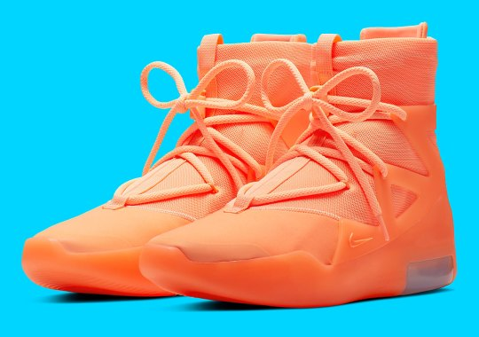 The Nike Air Fear Of God 1 Is Releasing In Orange 465897b1843