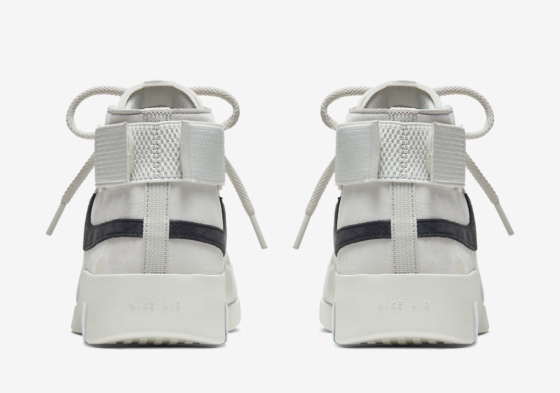 """Nike Air Fear Of God 180 """"Light Bone"""" Official Images"""