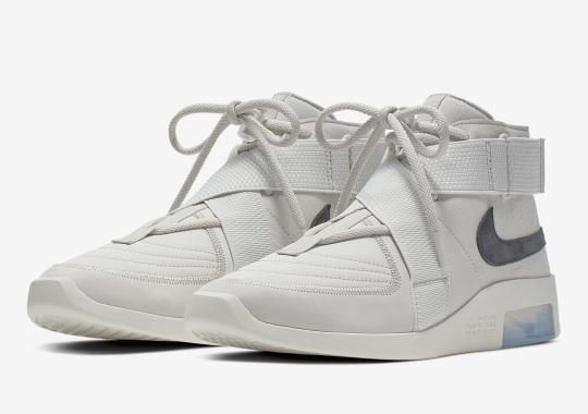 "Official Images Of The Nike Air Fear Of God 180 In ""Light Bone"""