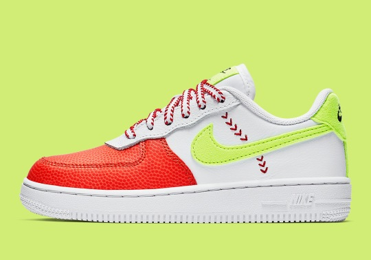 The Nike Air Force 1 Low Gets A Sporty Makeover