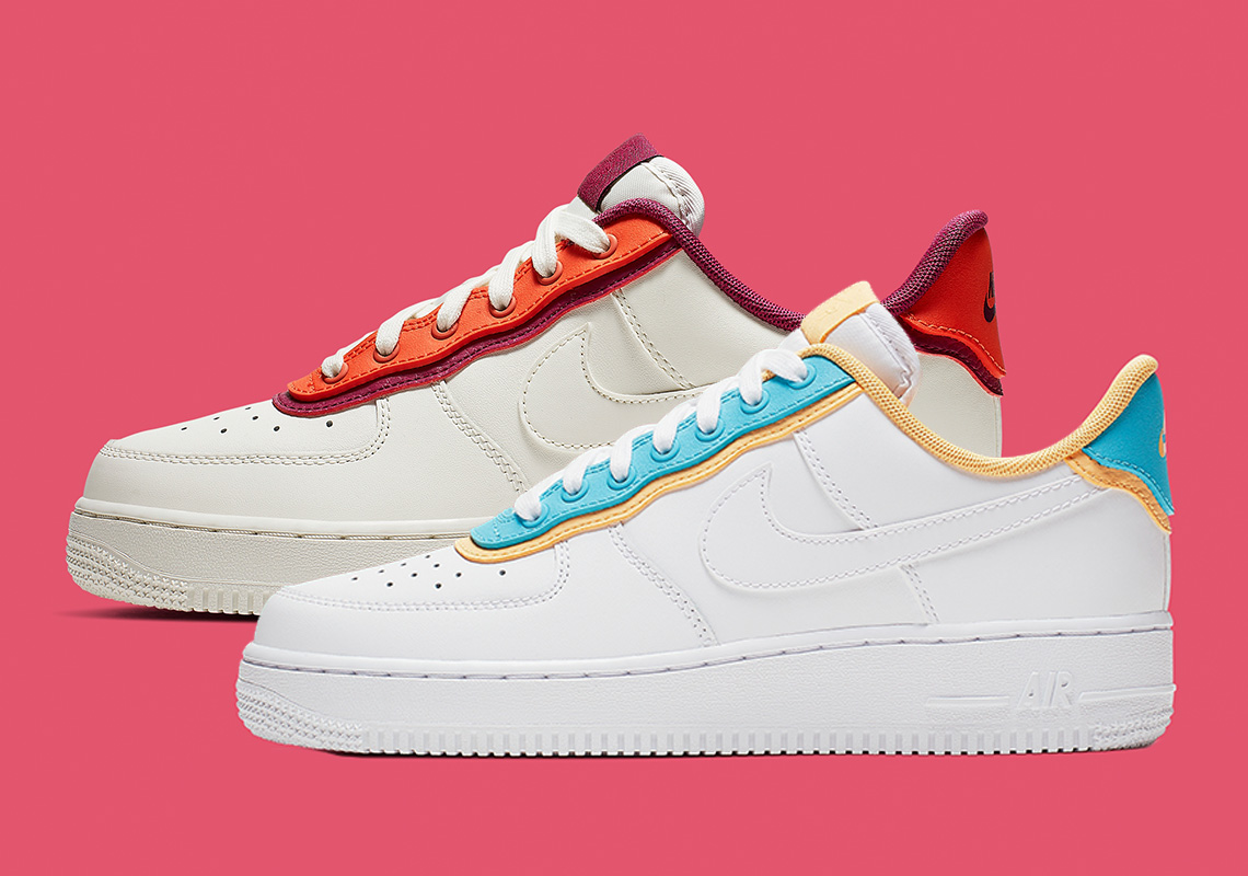 quality design 37d1f db0c8 Nike s Double-Layered Look Hits The Air Force 1 Low