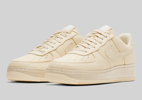 18a5f984c898 The Nike Air Force 1 Low Is Dropping Soon In Full Muslin Canvas