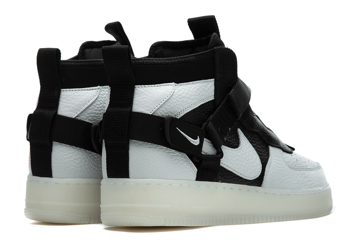 various colors e6404 2d02c Nike Air Force 1 Utility Mid Orca AQ9758-100 Release Date ...