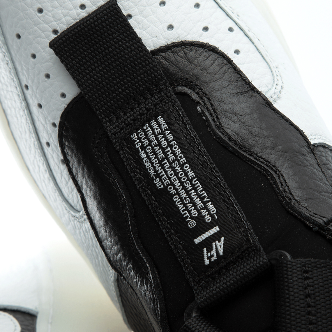 Nike Air Force 1 Utility Mid 'Orca' AQ9758 100 Off White