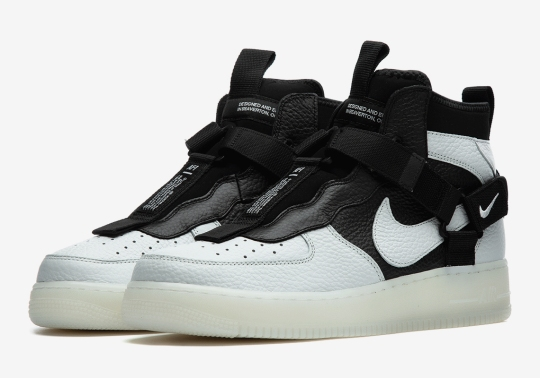 """""""Orca"""" Stylings Come To The Nike Air Force 1 Utility Mid"""