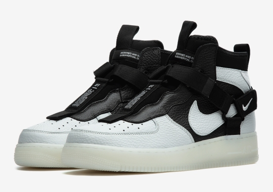 """Orca"" Stylings Come To The Nike Air Force 1 Utility Mid"