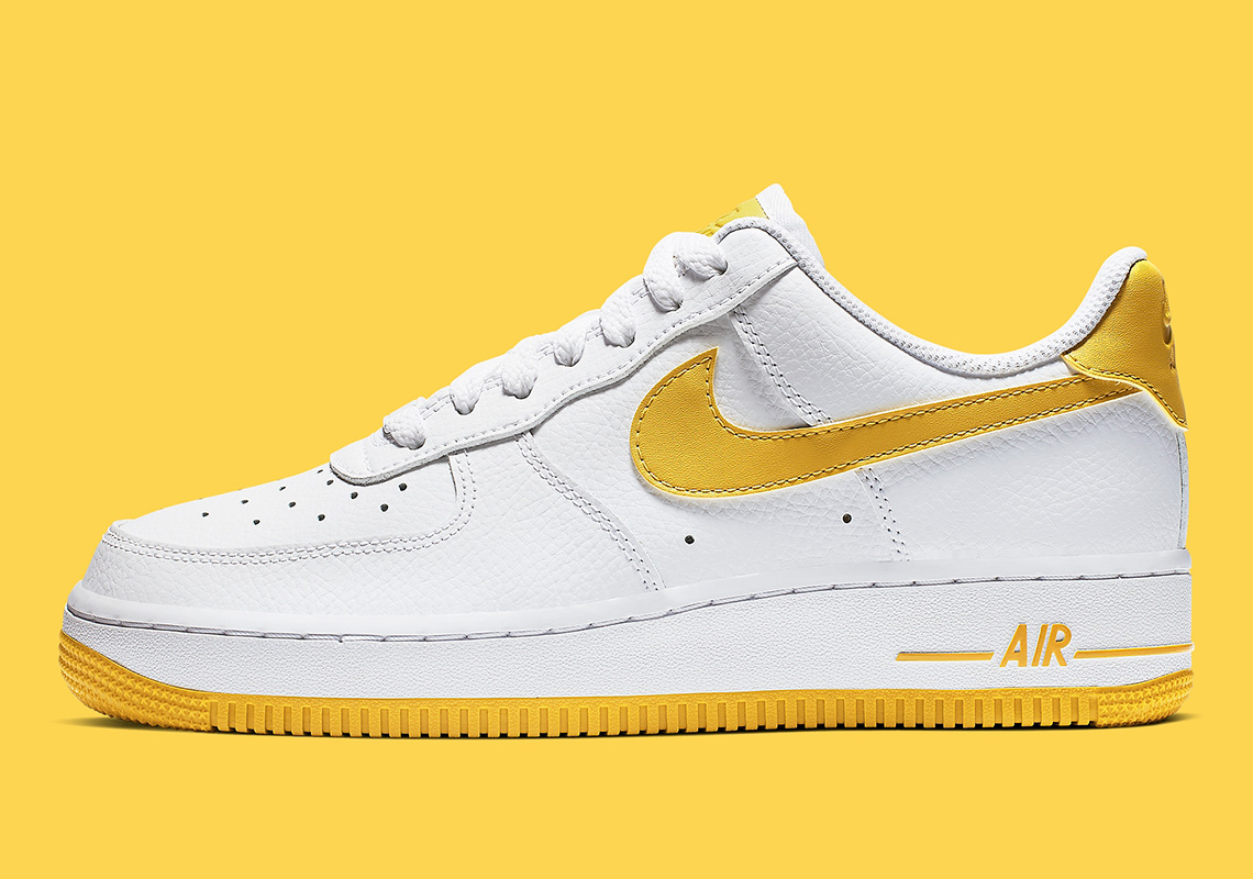 Nike Air Force 1 Yellow AH0287 103 Release Info