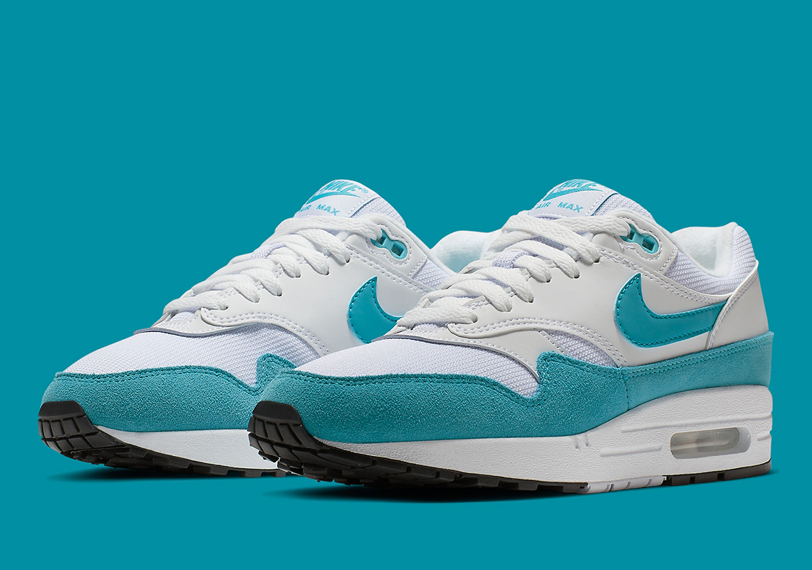 "low priced 434eb 7fb1a Nike Air Max 1 ""Atomic Teal"" Arrives Exclusively For Women"