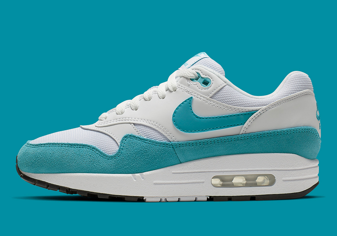 separation shoes d2548 4d482 Nike Air Max 1 Atomic Teal 319986-117 Release Info   SneakerNews.com