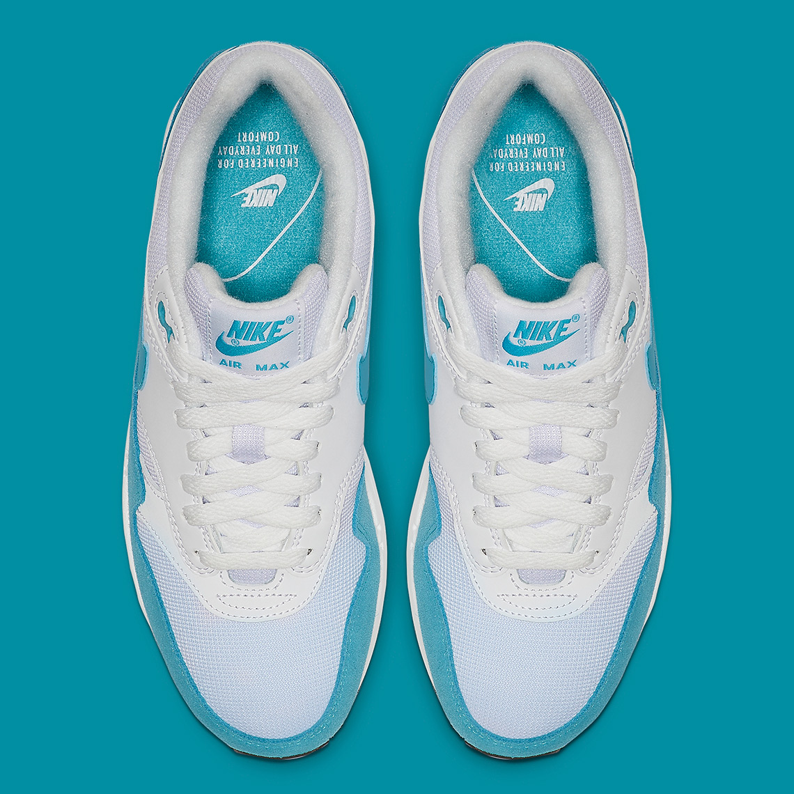 Nike Air Max 1 Atomic Teal 319986 117 Release Info