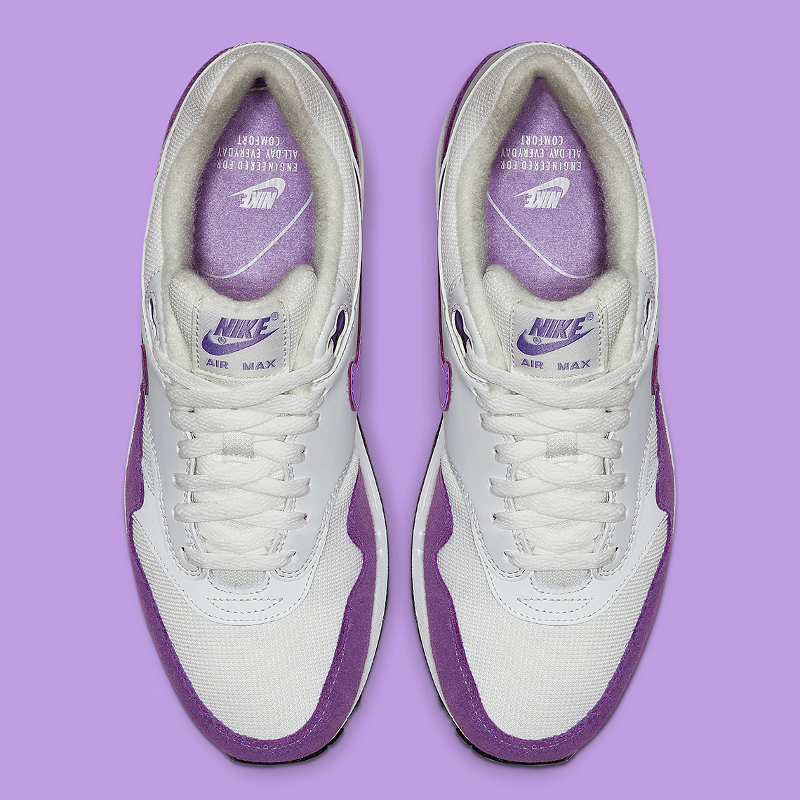 cheap for discount genuine shoes aliexpress Nike Air Max 1 Atomic Violet 319986-118 Release Info ...