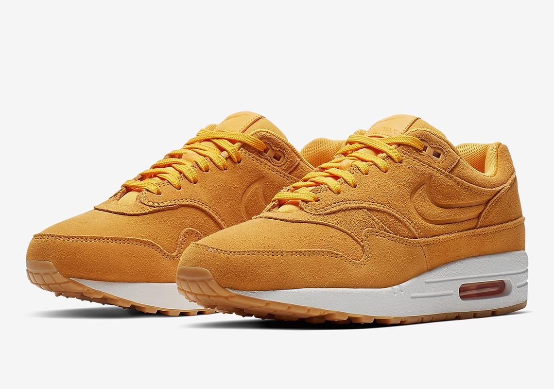 aae2dc187a Nike Air Max 1 Yellow 454746-702 Release Info | SneakerNews.com