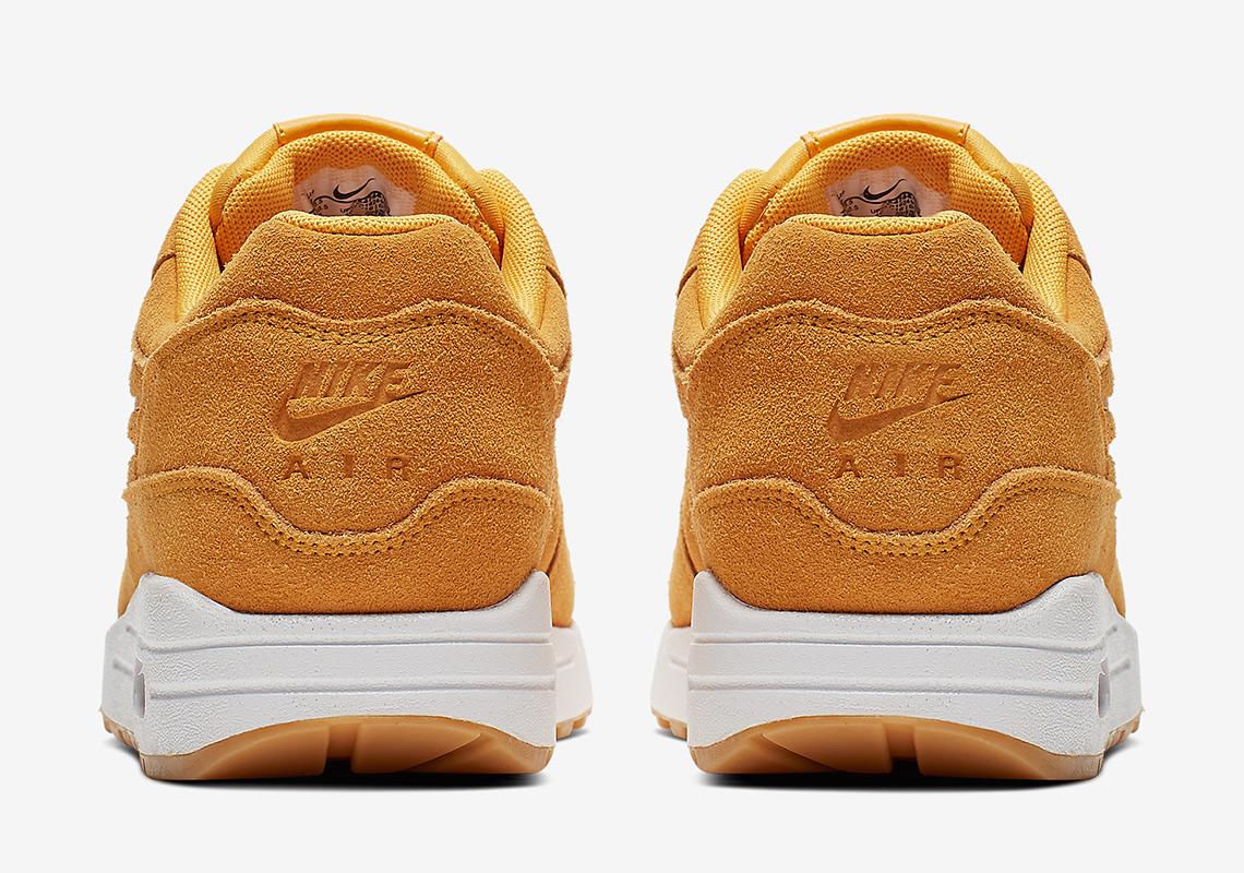 quality design 46beb 35b01 Nike Air Max 1 Yellow 454746-702 Release Info   SneakerNews.com