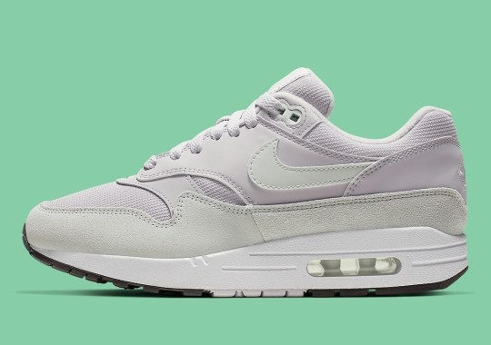 f8cd175828a8 Fresh Spruce Tones Grace This Women s Nike Air Max 1