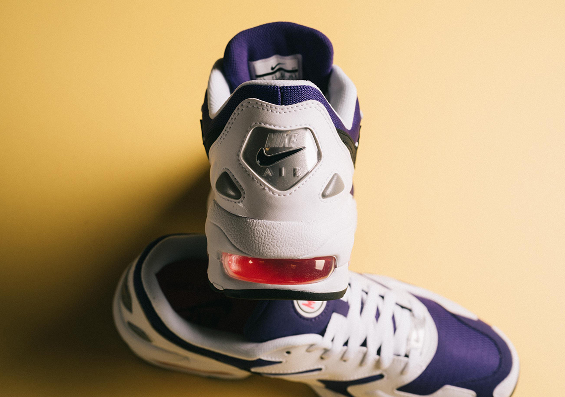 cheap for discount c1aa6 9776f Nike Air Max 2 Light Release Date  April 4th, 2019  140. Color  White Black Court  Purple Style Code  AO1741-103. Advertisement. Advertisement