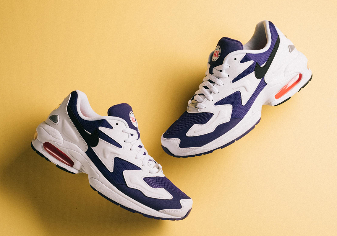 87aa93b916 Nike Air Max 2 Light Court Purple AO1741-103 | Sneaker News.com