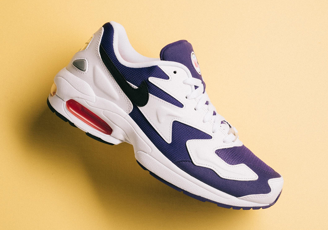 "5c8ee078819 The Nike Air Max 2 Light ""Court Purple"" Releases On April 4th"