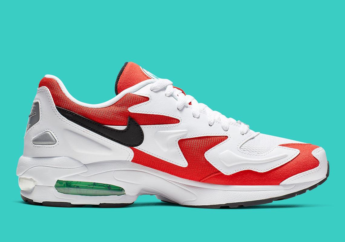 Nike Air Max 2 Light Habanero Red AO1714 101 |