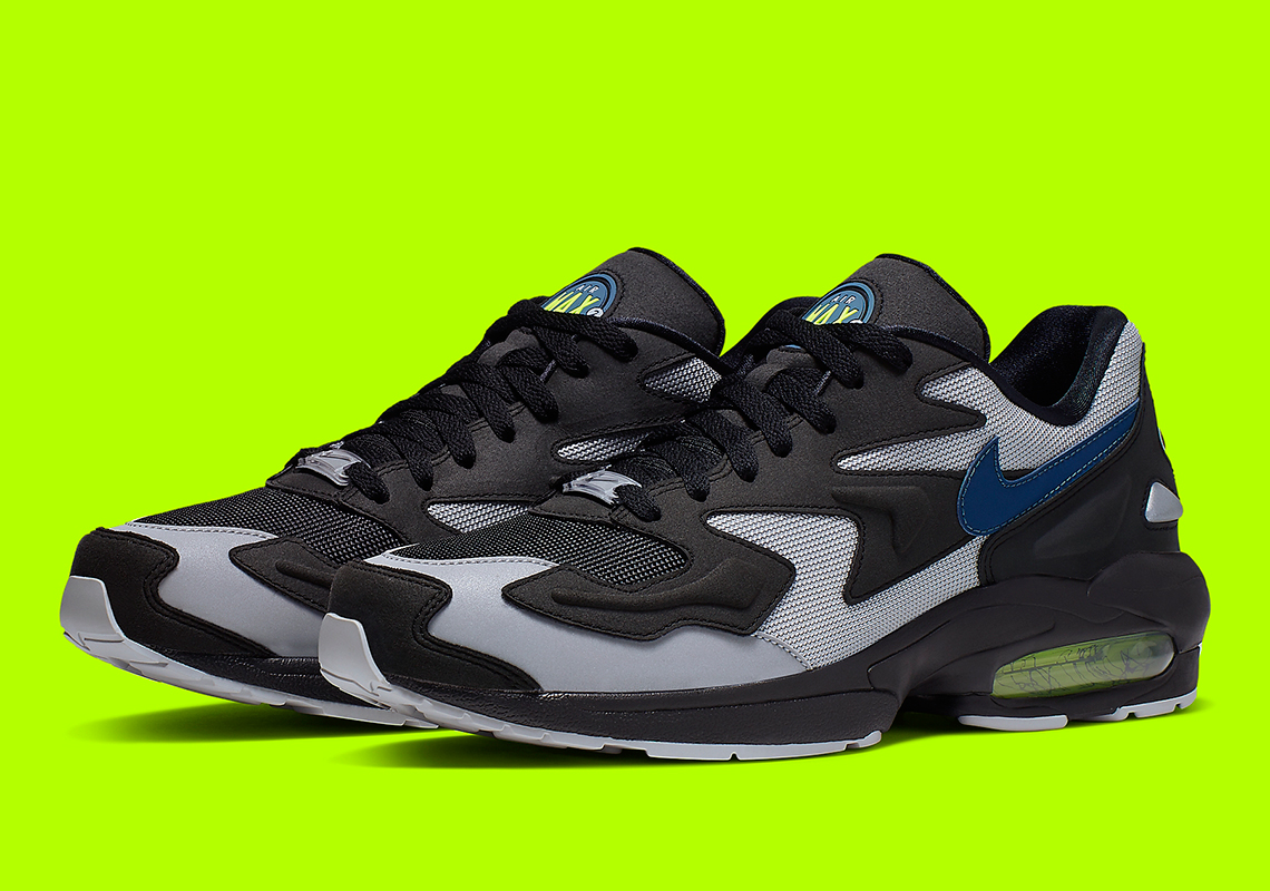 taille 40 4c192 8c6c3 Nike Air Max 2 Light Thunderstorm AO1741-002 | SneakerNews.com