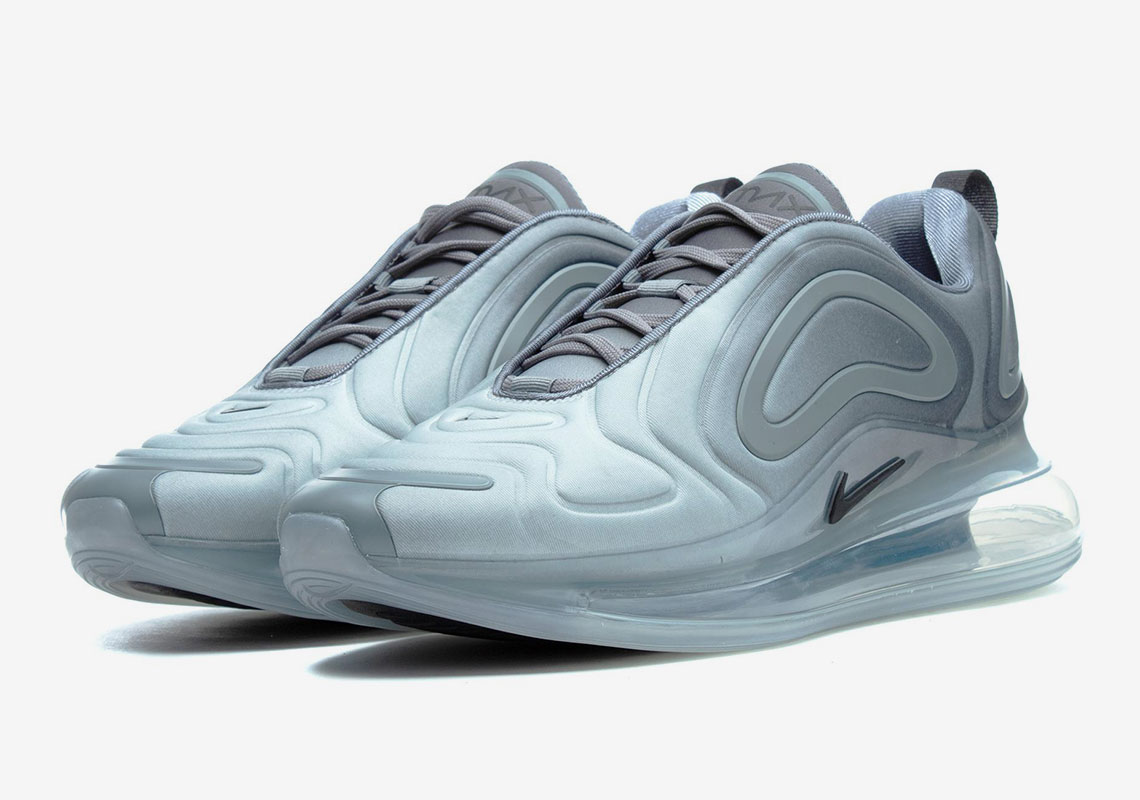 "a36fe49e95243 The Nike Air Max 720 ""Cool Grey"" Releases Tomorrow"