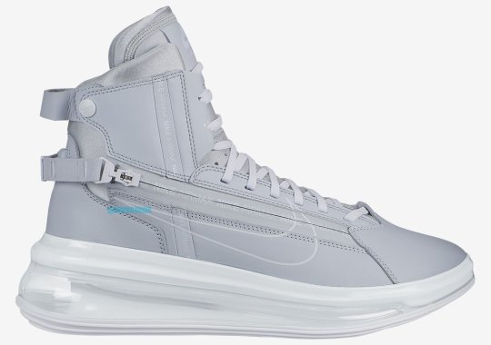 """The Nike Air Max 720 Saturn Arrives In """"Pure Platinum"""" For April"""