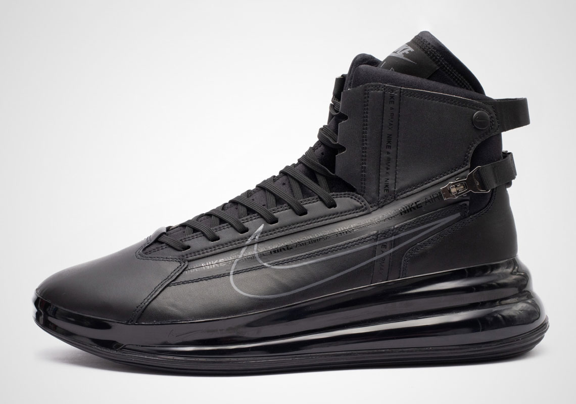 656b64ca5e296 The Nike Air Max 720 Saturn Appears In Triple Black