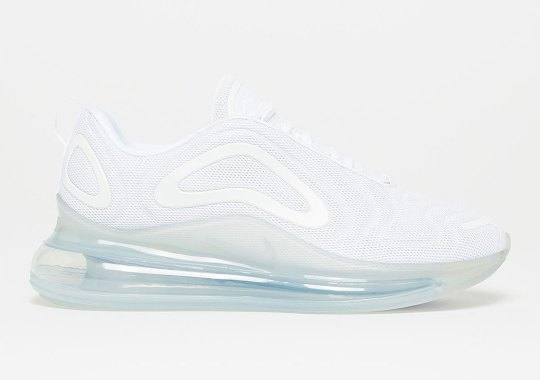 "Nike Air Max 720 ""Pure Platinum"" Releases On March 30th"
